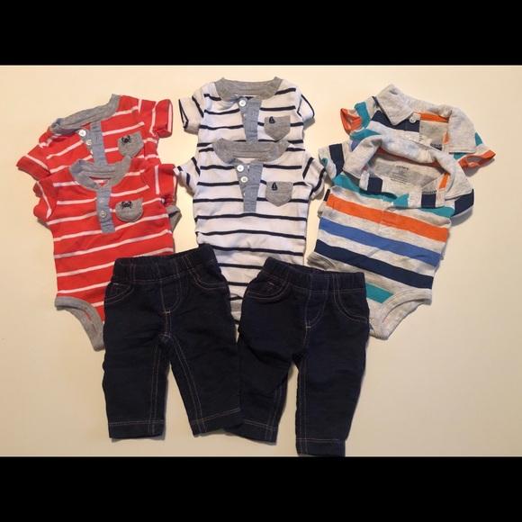 11b40e245 Carter's Matching Sets | Newborn Outfits Bb Twin Boys | Poshmark